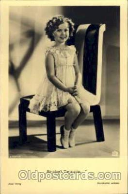 act020104 - Actress Shirley Temple Actor / Actress Postcard Post Card Old Vintage Antique