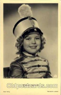 Actress Shirley Temple Actor / Actress Postcard Post Card Old Vintage Antique