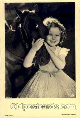 act020121 - Actress Shirley Temple Postcard Post Card