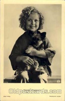 act020125 - Actress Shirley Temple Postcard Post Card