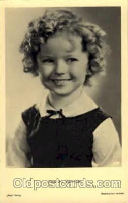 act020133 - Actress Shirley Temple Postcard Post Card