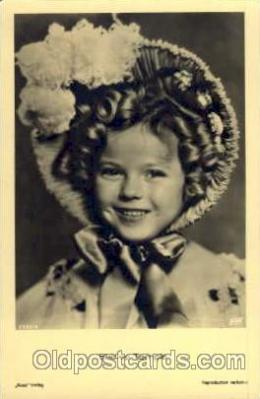 Actress Shirley Temple Postcard Post Card
