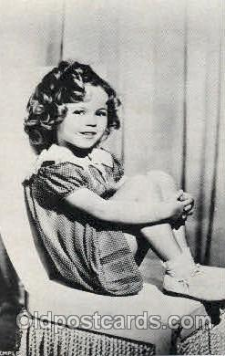 Shirley Temple Actress Post Card
