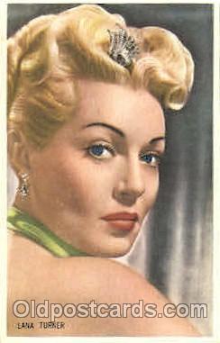 act020173 - Lana Turner Trade Card Actor, Actress, Movie Star, Postcard Post Card