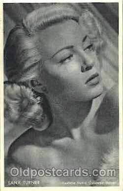 act020186 - Lana Turner Trade Card Actor, Actress, Movie Star, Postcard Post Card