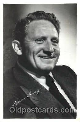 act020204 - Spencer Tracy Actor, Actress, Movie Star, Postcard Post Card