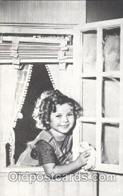 Non Postcard Backing,  Actress Shirley Temple Postcard Post Card