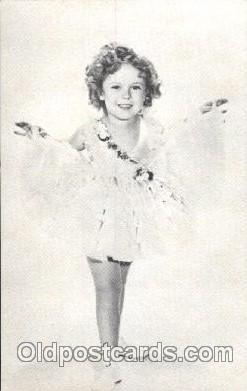 act020214 - Non Postcard Backing,  Actress Shirley Temple Postcard Post Card