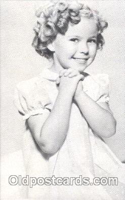 act020217 - Non Postcard Backing,  Actress Shirley Temple Postcard Post Card