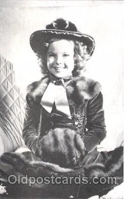 act020218 - Non Postcard Backing,  Actress Shirley Temple Postcard Post Card
