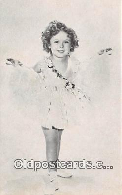 act020235 - Shirley Temple Movie Actor / Actress, Entertainment Postcard Post Card