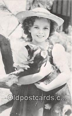act020247 - Shirley Temple Movie Actor / Actress, Entertainment Postcard Post Card