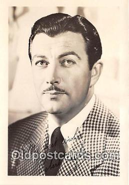 act020258 - Robert Taylor Movie Actor / Actress, Entertainment Postcard Post Card