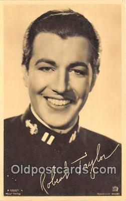 act020269 - Robert Taylor Movie Actor / Actress, Entertainment Postcard Post Card