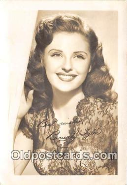 act020271 - Beverly Tyler Movie Actor / Actress, Entertainment Postcard Post Card