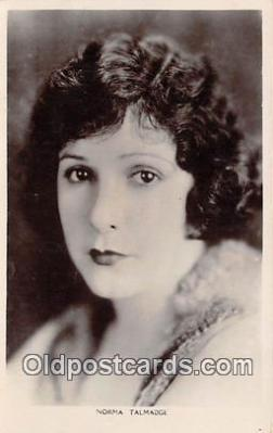 act020285 - Norma Talmadge Movie Actor / Actress, Entertainment Postcard Post Card