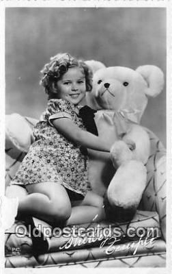 act020290 - Shirley Temple Postcard in Rebecca of Sunnybook Farm