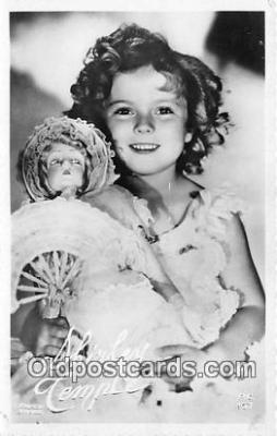 act020291 - Shirley Temple Postcard