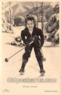 act020294 - Shirley Temple Postcard