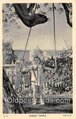 act020306 - Shirley Temple Postcard