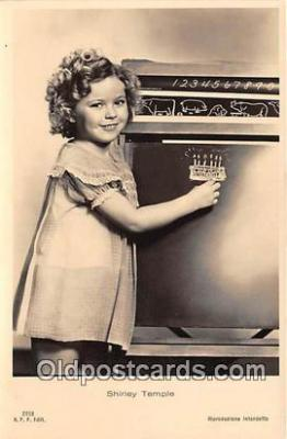 act020330 - Shirley Temple Postcard