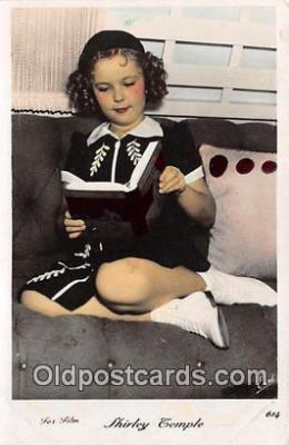 act020331 - Shirley Temple Postcard