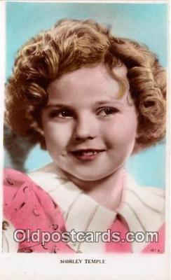 act020334 - Shirley Temple Postcard