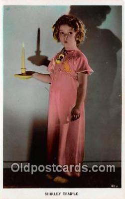 act020336 - Shirley Temple Postcard