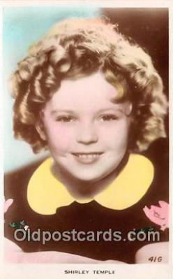 act020347 - Shirley Temple Postcard