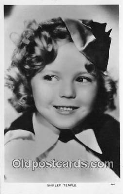act020377 - Shirley Temple Postcard