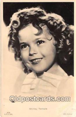 act020378 - Shirley Temple Postcard