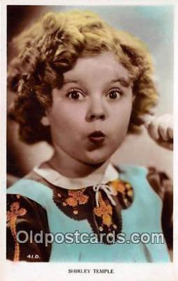 act020403 - Shirley Temple Postcard