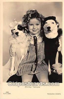act020406 - Shirley Temple Postcard