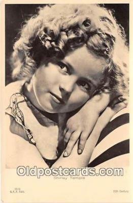 act020409 - Shirley Temple Postcard