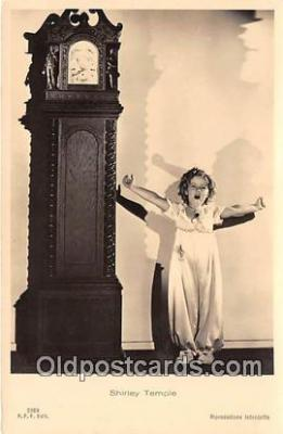 act020411 - Shirley Temple Postcard