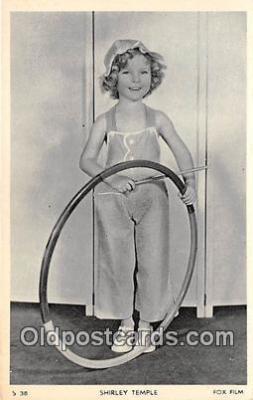 act020437 - Shirley Temple Postcard