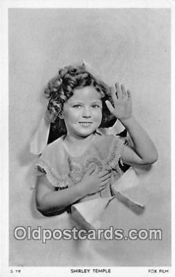 act020438 - Shirley Temple Postcard