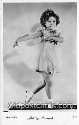 act020444 - Shirley Temple Postcard