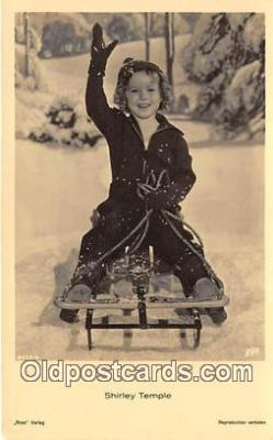 act020455 - Shirley Temple Postcard