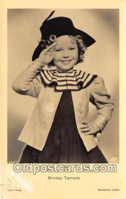 act020460 - Shirley Temple Postcard