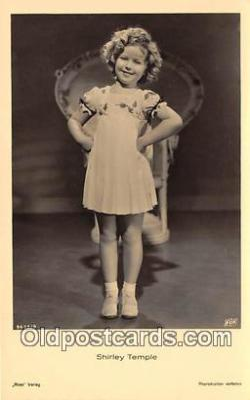 act020463 - Shirley Temple Postcard