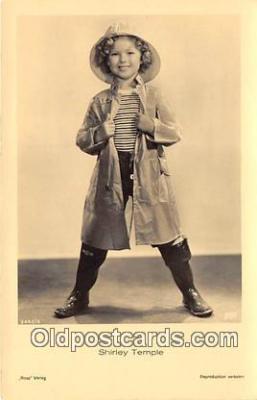 act020471 - Shirley Temple Postcard
