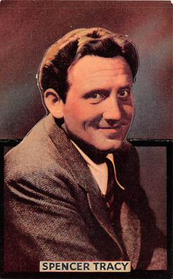 act020483 - Spencer Tracy Movie Star Actor Actress Film Star Postcard, Old Vintage Antique Post Card