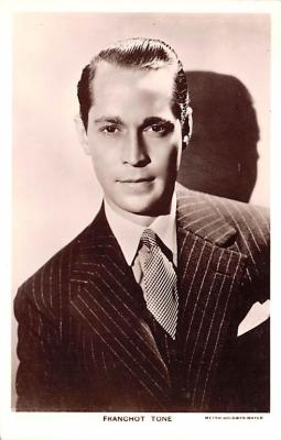 act020551 - Franchot Tone Movie Star Actor Actress Film Star Postcard, Old Vintage Antique Post Card