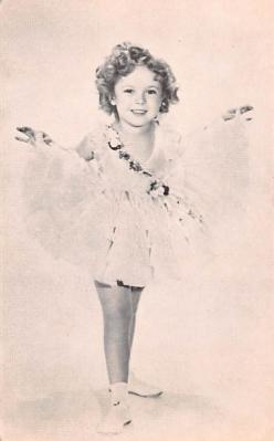 act020588 - Shirley Temple Movie Star Actor Actress Film Star Postcard, Old Vintage Antique Post Card