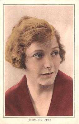 act020617 - Norma Talmadge Movie Star Actor Actress Film Star Postcard, Old Vintage Antique Post Card