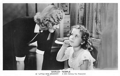 act020721 - Child Movie Star Shirley Temple Post Card Old Vintage Antique