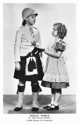 act020771 - Child Movie Star Shirley Temple Post Card Old Vintage Antique