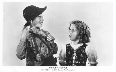 act020819 - Child Movie Star Shirley Temple Post Card Old Vintage Antique