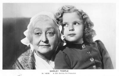 act020831 - Child Movie Star Shirley Temple Post Card Old Vintage Antique